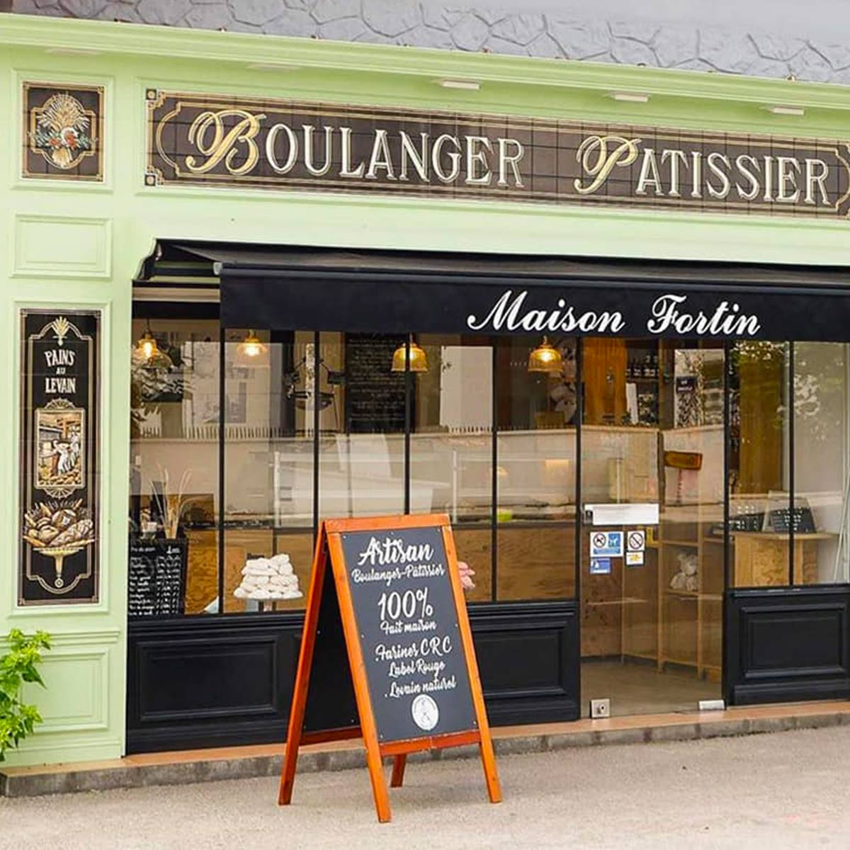 Boulangerie, pâtisserie Maison Fortin à Pessac Fabrication maison produits de qualités