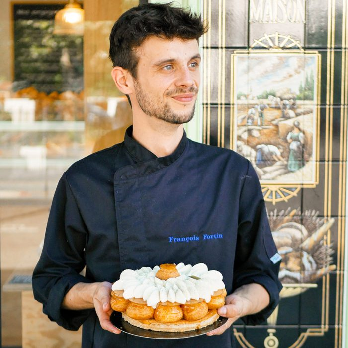 François Fortin boulanger et pâtissier dans la Maison Fortin, maison de savoir-faire et passion