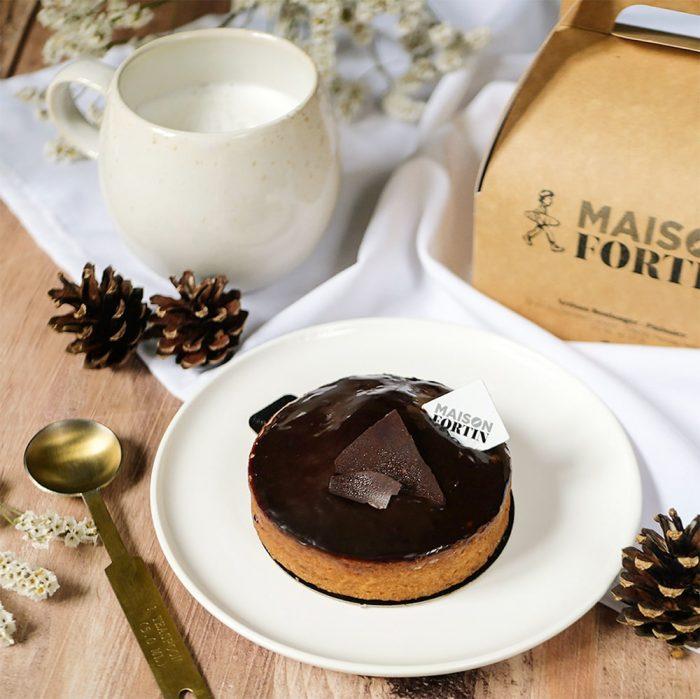 Pâtisserie tarte chocolat Maison Fortin